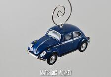 1967 Super Deluxe Volkswagen Beetle Custom Christmas Ornament VW Bug Herbie 1/64