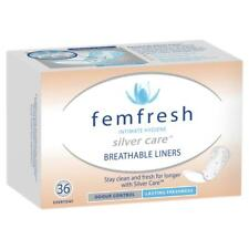 Femfresh Breathable Liners 36 Intimate Hygiene Odour Control Lasting Freshness