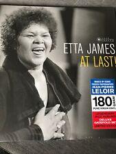 ETTA JAMES - AT LAST ! JAZZ IMAGES DELUXE GATEFOLD EDITION 180 G VINYL LP - NEW