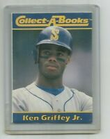 KEN GRIFFEY JR (Seattle Mariners) 1990 CMC CORP COLLECT-A-BOOKS BOOKLET #3