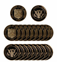 1982 Proof Roll 20 Brass Mint Tokens New From Mint Proof Sets 20 pcs