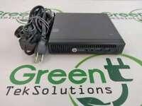 HP EliteDesk 705 G2 Mini SFF PC A6-8500B R5 1.6GHz 8GB RAM w/ AC Adapter NO HDD