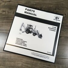 Parts Manual For John Deere 510B Backhoe Loader Catalog Book Schematic Assembly