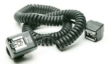 Interfit Strobies Off Camera TTL Cord 6' Long For Canon Film & Digital Cameras.