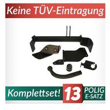 Für Alfa Romeo 147 00-10 Kpl. Anhängerkupplung starr+E-Satz 13p