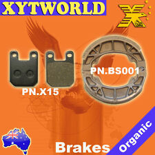 FRONT REAR Brake Pads Shoes PEUGEOT Vivacity 2 50 2008 2009 2010 2011