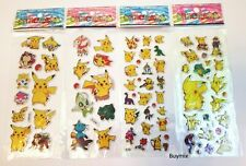 Pokemon Stickers Pikachu Children Party Bag Fillers Gifts Stationery Crafts