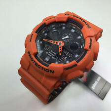 Casio G-Shock Orange Digital Analog Watch GA100L-4A