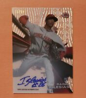 2015 Topps High Tek, Raisel Iglesias RC, Rookie Auto Autograph, SP #d 17/99