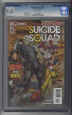 Suicide Squad #3 CGC 9.8 NM/M Harley Quinn cover DC Comics New 52 1/12 White