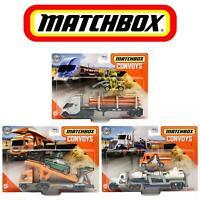 MATCHBOX CONVOYS NEW 2020 VEHICLES LONESTAR CAB TESLA SEMI GBK70 METAL PIECES