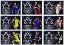 2015-16 Topps UEFA Champions League Showcase Championship Pedigree You Pick