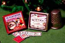 Dollhouse Miniature 1:12  Night Before Christmas Game  Victorian dollhouse game