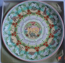 Wedgwood Large Collectors Plate THE AGE OF REPTILES 1983 THIRTEENTH SERIES