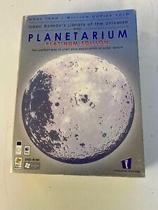 Isaac Asimov's Library of tyhe Universe & Planetarium Platinum DVD-Rom New 36-2C