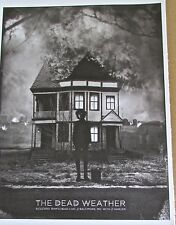 The Dead Weather Band Concert Mini Poster Reprint for 2010 Baltimore MD 14x10