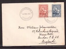 DENMARK 1951 FIRST DAY COVER, ANNIVERSARY FOUNDATION NAVAL OFFICER'S COLLEGE !!