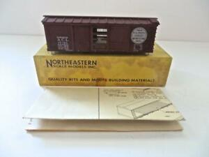 HO Craftsman Built Northeastern Scale Models ACL all Wood Ventilated Boxcar (278
