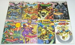 Megalith vol. 2 #0 & 1-7 VF/NM complete series - in bags with cards - neal adams