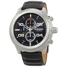 Diesel Padlock Black Dial Mens Chronograph Watch DZ4439