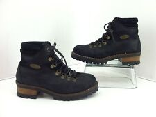 Lugz NY Lug Co. Black Distressed Ankle Boots. Size 36  E Approx. US 6.