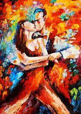 Modern Art - The Last Dance 80x110 cm Oil Painting