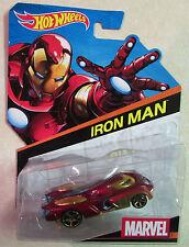Marvel Universe Mattel Hot Wheels Iron Man Diecast Super Car - Brand New