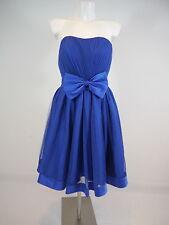 +FLOWER BYCHARMS PARIS Da.Cocktailkleid Abendkleid kurz Tüllkleid blau Gr.S NEU