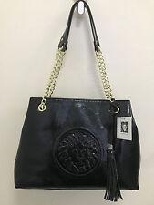 NEW ARRIVAL! ANNE KLEIN LEO LEGACY VI BLACK GOLD SHOPPER SATCHEL BAG PURSE $99