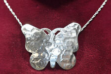 Sterling Silver DaneCraft Butterfly Necklace