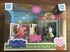 Peppa Pig Photo Booth Playtime Playset - Includes Peppa Pig & Zoe Zebra!
