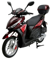 150cc 4 Stroke Single Cylinder Moped Scooter with Radio Usb & Led Light