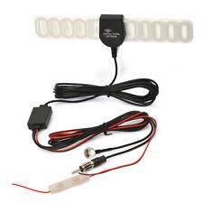 AUTO Digitale DVB-T TV FM Radio Antenna Booster Antenna con spina F Connettore Maschio