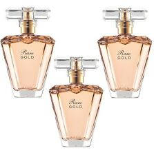LOT de 3 EAU de Parfum RARE GOLD en vapo de chez AVON neuf