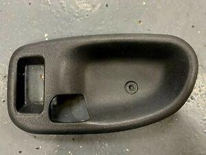 98-04 S10 TRUCK CHEVY BLAZER GMC JIMMY DOOR HANDLE TRIM DRIVERS SIDE DARK GRAY