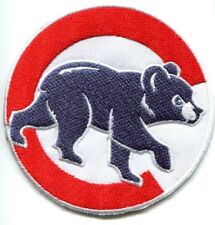 CHICAGO CUBS JERSEY PATCH IRON ON LOGO WITH BEAR