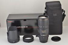 Sigma Apo 70-200mm F2.8 Ex Dg OS Hsmm Lente de Zoom para Canon Eos Ef Soporte