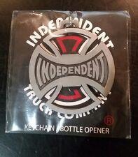 Independent Skateboard Trucks BOTTOMS UP Keychain Bottle Opener ANTIQUE NICKEL
