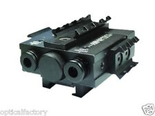 Tactical Green Laser & Infrared Night Vision Laser Combo Sight + Picatinny Rail