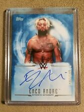 Enzo Amore 2017 Topps WWE Undisputed Blue SP Authentic On-Card Autograph #d /199