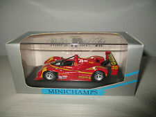 FERRARI 333 SP 2nd PLACE DAYTONA 1996 MOMO MINICHAMPS SCALA 1:43