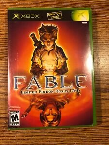 Fable Limited Edition Bonus DVD Original Xbox Microsoft 2004 BRAND NEW SEALED