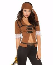 Sexy Pirate Costume Large L Women Role Play Halloween Cosplay Swashbuckler Pants
