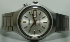 Vintage Seiko Bellmatic Alarm Automatic Day Date Used Wrist Watch S844 Antique