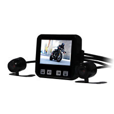 C6 Motorcycle Mounted Action 720P HD Video Dual Camera Dashcam Front &Back+ 16GB