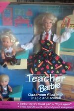 VINTAGE  NAUGHTY TEACHER  Barbie 1995  NO PANTIES UNDERWEAR RECALL NIB MIB B