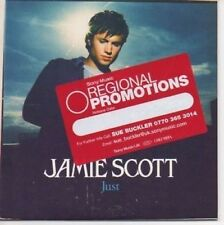 (AI235) Jamie Scott, Just - DJ CD