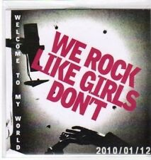 (AW618) We Rock Like Girls Don't, Welcome To My - DJ CD