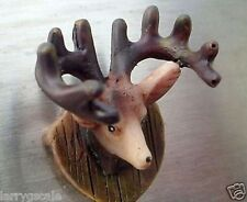 Mounted Deer Head Miniature 1/24 Scale G Scale Diorama Accessory Item