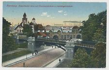 AK  Hamburg - Helgoländer Allee mit Hochbahnbrücke u.Landungsbrücken (E732)
